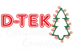D-Tek Christmas Lighting San Diego Logo