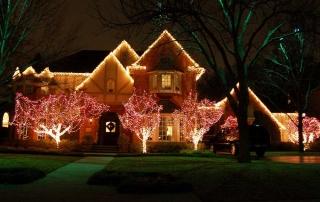Poway Christmas Light Installations