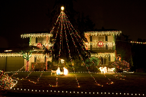 Christmas Light Installers Fairbanks Ranch